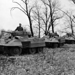 M8 Greyhound Armored Cars in field trials