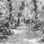 Marines Battle Jungle Rest Bougainville Operation Cherry Blossom