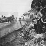 Marines Land Landing Craft Beach Bougainville Operation Cherry Blossom