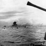 Assault Troops Head for Shore in Invasion of Eniwetok