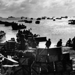 Invasion Armada Brings Soldier and Supplies to Eniwetok