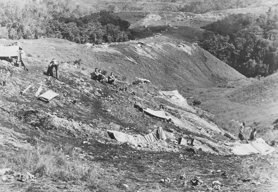 Guadalcana 's Bloody Ridge September 1942   World War Photos