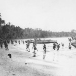 1st Marine Division Landing on Guadalcanal in LCPs August 1942