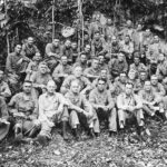 First Division General Vandegrift and Staff on Guadalcanal 1942