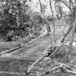 Guadalcanal Marine amphibian tractors bridge supports 1942