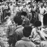 Japanese Prisoners Captured by US Troops on Guadalcanal