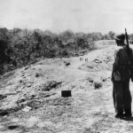 Marine after Battle on Edson's Ridge on Guadalcanal September 1942