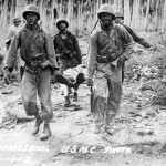 Marines Evacuating A Casualty 2nd Marine Division Guadalcanal