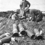 Marines set up mortar under enemy fire on Guadalcanal