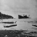 Wreckage Of Japanese Ship Kinugawa Maru Off Guadalcanal