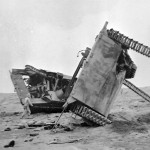 Destroyed Marine Amtracs Iwo Jima