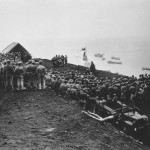 Easter service on top Mount Suribachi Iwo Jima