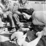 First Navy Nurse Ens Jane Kendeigh on Iwo Jima Battlefield