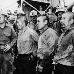 Japanese Prisoners of war Taken Off Iwo Jima