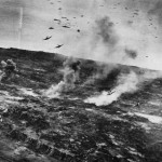 US Navy Avengers Attack to Support Ground Force on Iwo Jima