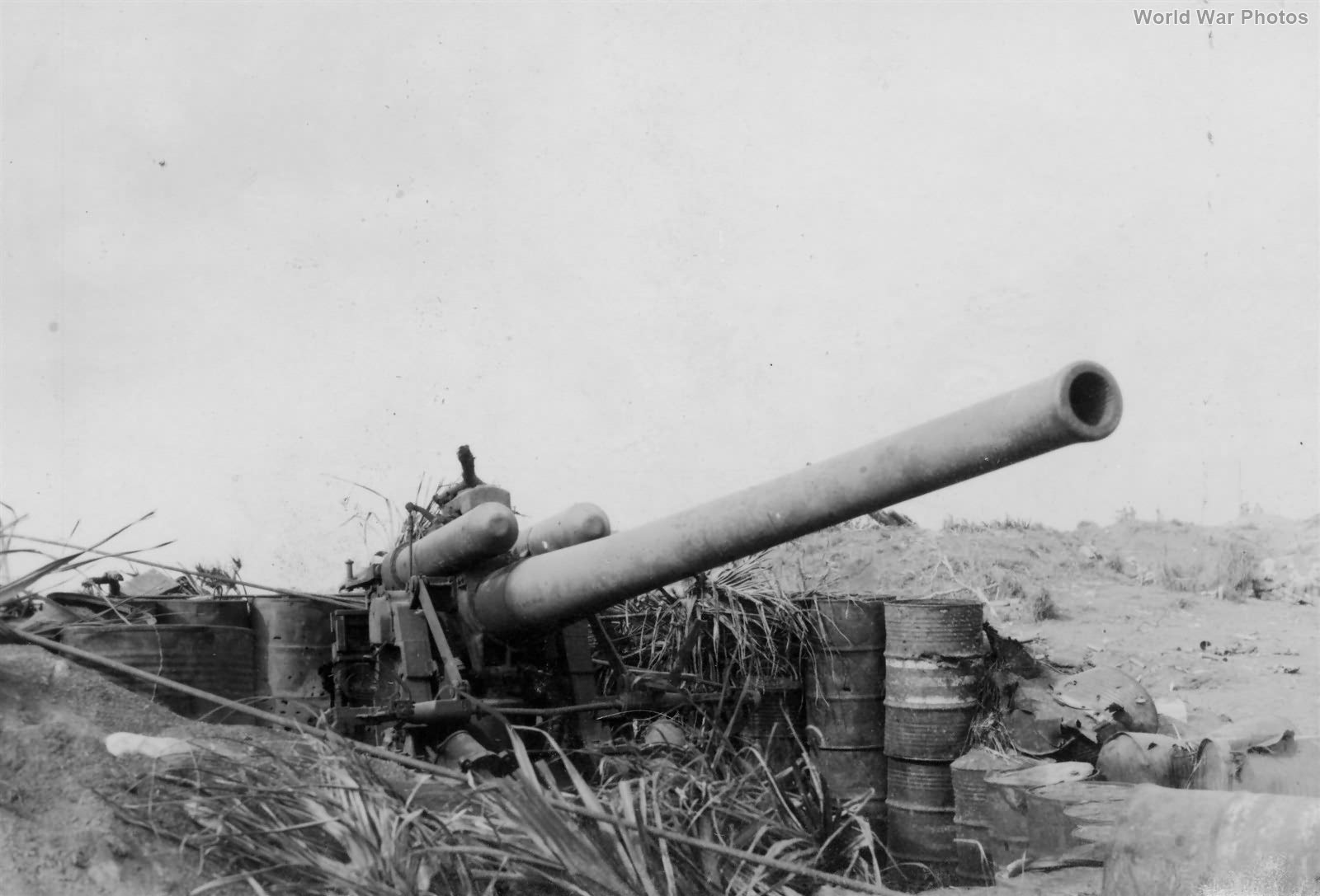 Japanese 12 inch gun