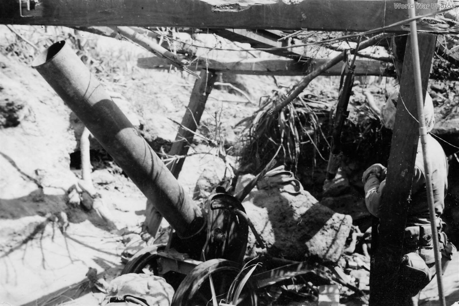 Japanese 200mm Rocket Launcher Found on Iwo Jima