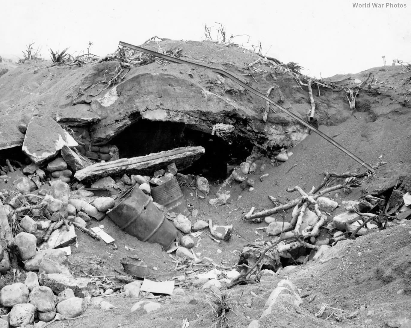 KO Japanese AT gun installation Iwo Jima