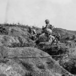 3-21 Marines Fighting For Airfield 2 on Iwo Jima 24feb