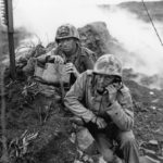 4th Marine Division Commo Team on Iwo Jima 4mar