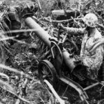 Japanese 200mm Rocket Launcher Iwo Jima mar