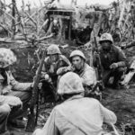 Marines prepare to assault blockhouse on Iwo Jima 5March