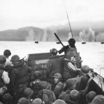 LCVP Heads for Beach at Hollandia Operation Wreckless 22 April 1944