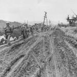10th Army Troops Move into Yonabaru on Okinawa