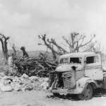 1945 Okinawa Wrecked Japanese Truck