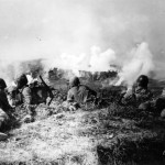 1st Marine Division Fights Japanese On Okinawa
