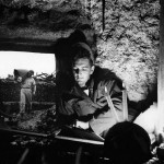 7th Air Force Soldiers Make Home in Cave on Okinawa 1945