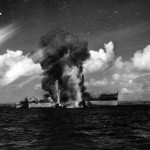Burning Okinoyamo Maru Okinawa