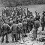 Chaplain Leads Service for 184th Regiment on Okinawa