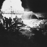 Marines 155mm Howitzer fire Okinawa