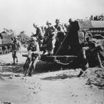 Marines Hit the beach from LVT 1945 Okinawa