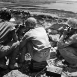 US Marine Gun Crew in Firefight near Naha Okinawa