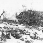 1st Division Marine Advance Under Fire on Peleliu PTO