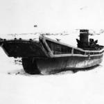 Japanese landing craft Peleliu