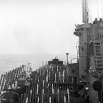 LCI(R) Rocket Battery Ready For Peleliu Invasion