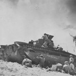 Marine Corps LVT(A)1 The Bloody Trail Peleliu