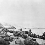 US Marines in action Orange Beach 3 Peleliu 1944