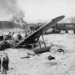 Destroyed Japanese H8K Base Tanapag Harbor Saipan Island Marianas 15 July 1944