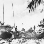 LVT Amtrac Battle of Saipan June 1944