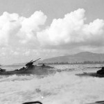 LVT's heading for shore The 2nd and 4th Marine Division Saipan 15 June 1944