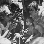 Marine and Civilians Saipan 1944