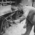 Saipan Marine oils rebuilt train to airfield