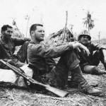 Soldiers Relaxing after Capture of Saipan