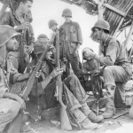 US Troops Discuss Battle Strategy Saipan Nafutan