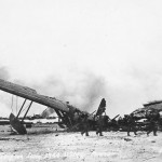 Japanese flying boat Kawanishi H8K Emily wreckage Saipan 1944