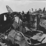 Capture Japanese 203 mm Coast Artillery Tarawa 1943